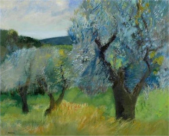 Guy Bardone - The Sea and the Olive trees
