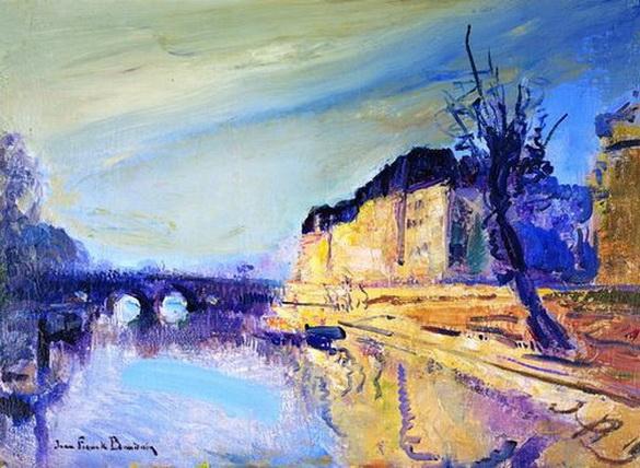 Jean-Franck Baudoin - Early Morning, Seine, Paris