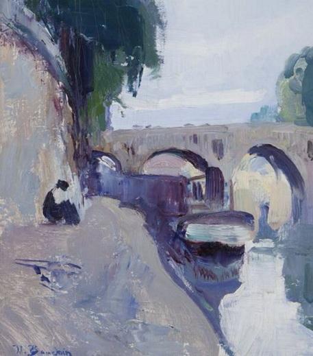 Jean-Franck Baudoin -   Le Petit Pont, Paris