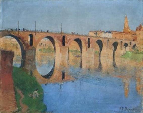 Jean-Franck Baudoin -   Le Pont Romain de Sommieres