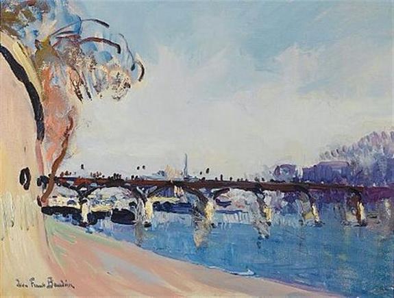 Jean-Franck Baudoin -  Paris La Seine