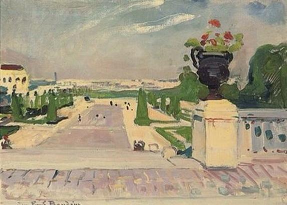 Jean-Franck Baudoin - Jardin du Palais de Chaillot, Paris