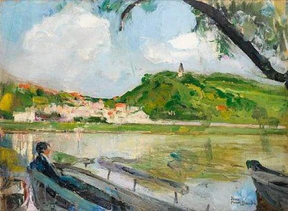 Jean-Franck Baudoin - L'homme sur le banc