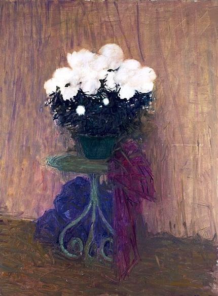 Jacques Truphemus - Pot de chrysanthemes