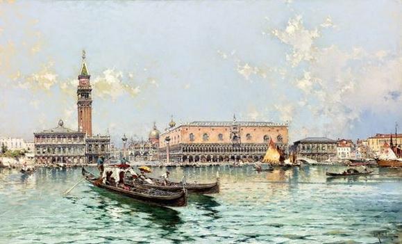 Franz Richard Unterberger - Venice 2