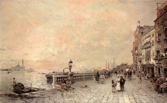 Franz Richard Unterberger - Venice 3