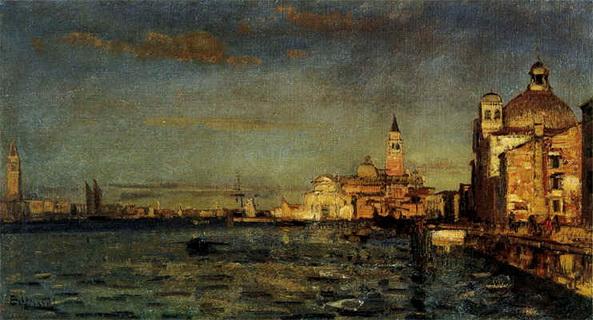 Beppe Ciardi - Venice Bacino di San Marco e isola di San Giorgio