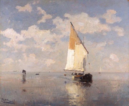 Beppe Ciardi - Barca A Vela Nella in Laguna