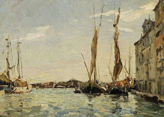 Emma Ciardi - Venice Sailing Boats