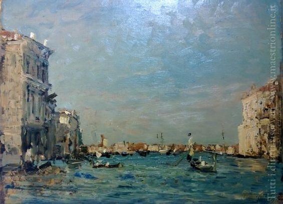 Emma Ciardi - Venice  Canal Grande