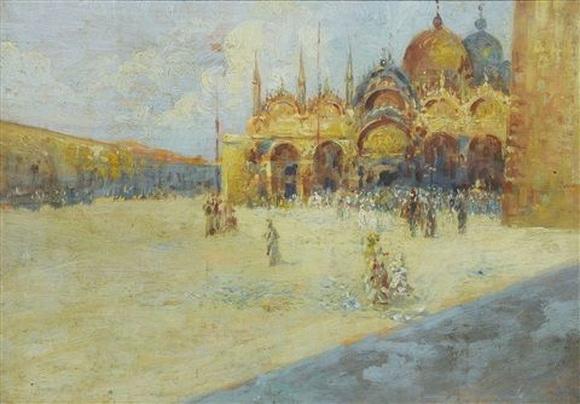 Emma Ciardi - Venice  La Place St. Marc