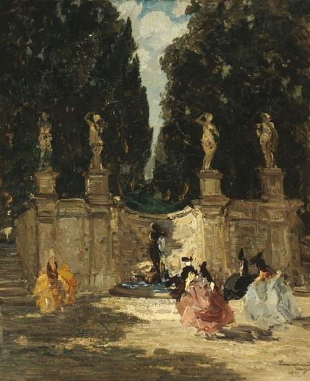 Emma Ciardi - Fontana dei Lauri