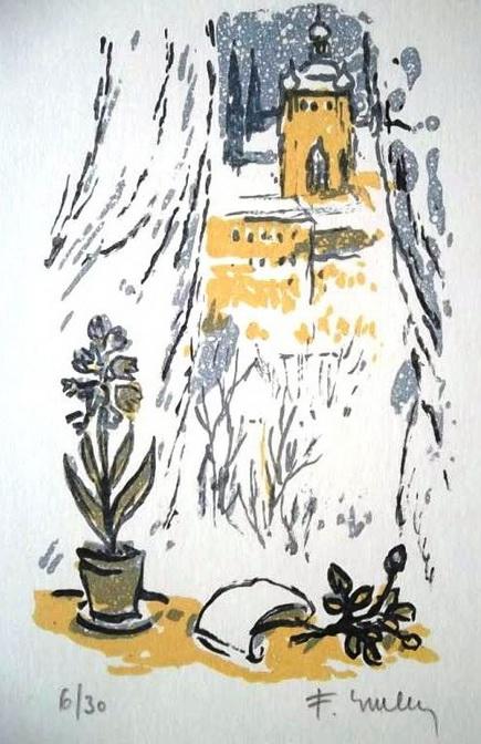 Frantisek Emler - litografie 2