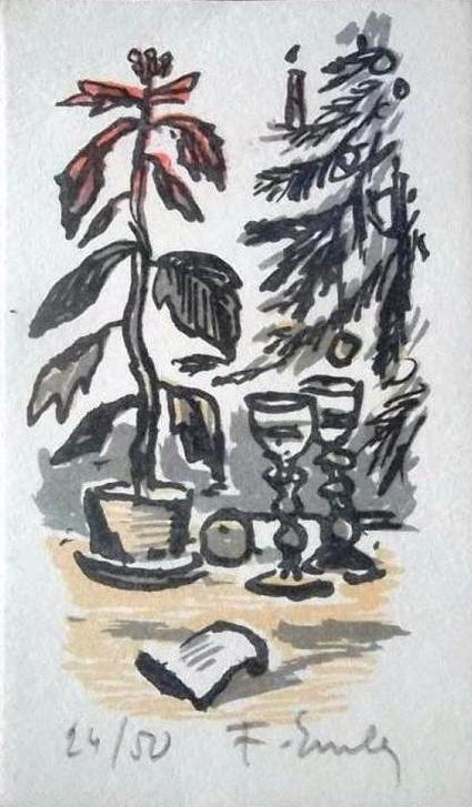 Frantisek Emler - litografie 10