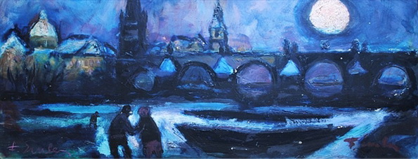 Emler Frantisek - Night Prague