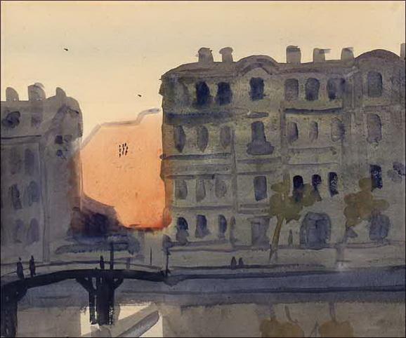 Nikolay Lapshin - Leningrad Угол Прачечного переулка