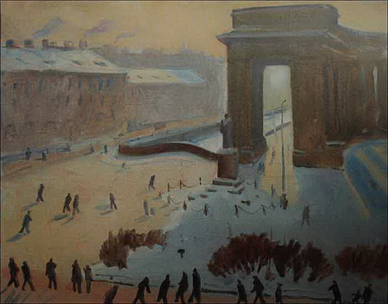 Nikolay Lapshin - Leningrad Канал Грибоедова зимой