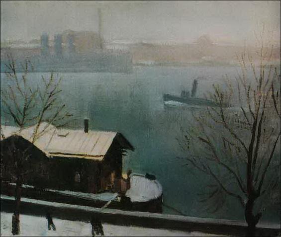 Nikolay Lapshin - Нева. Первый снег.
