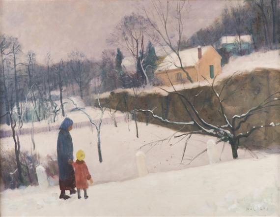 Multrus Josef - Winter in Hlubocepy