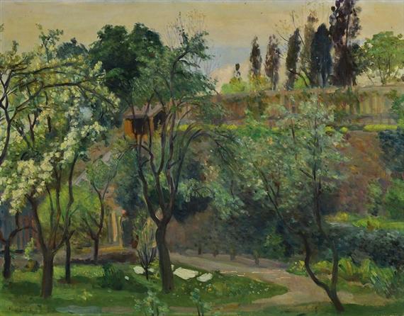 Multrus Josef - summery garden view