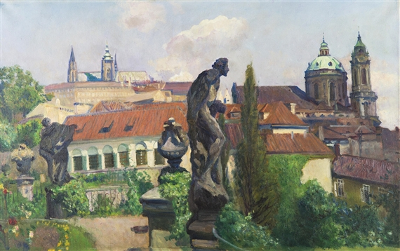 Multrus Josef - View of Prague Castle