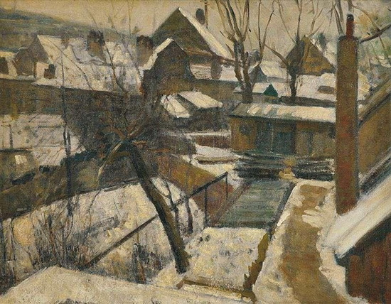 Multrus Josef - Winter in Hlubocepy 2