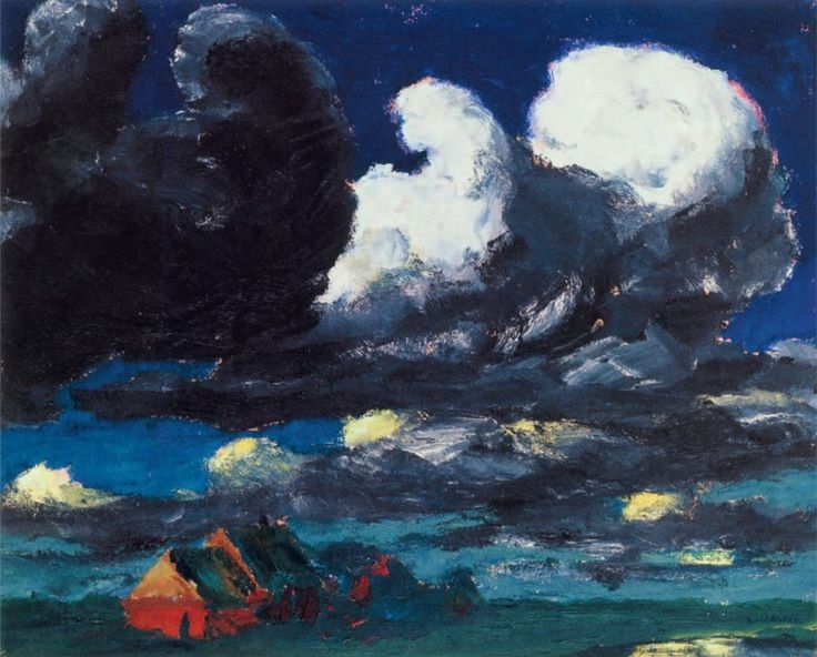 Emil Nolde  Landscape, North Friesland 1920