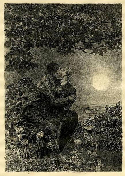 Ethel Gabain - The orchard