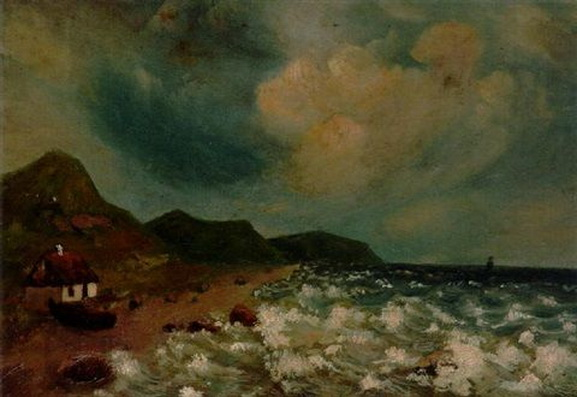 Carl Fredrik Hill - Motiv fran sydvestra kusten