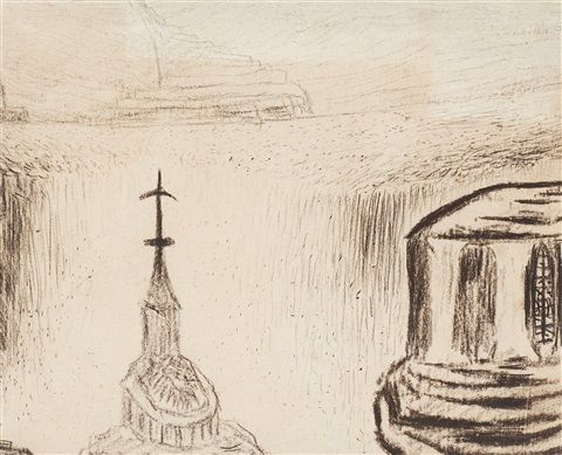 Carl Fredrik Hill - Cathedral and Temple Rise