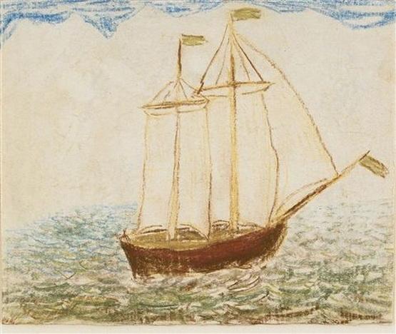Carl Fredrik Hill - Segelfartyg