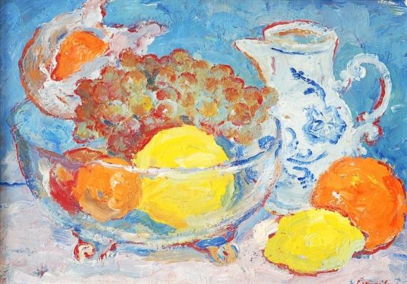 Alena Cermakova - Still-life with fruit