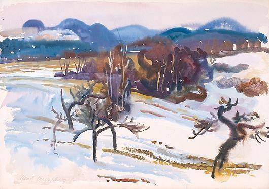 Alena Cermakova - WINTER IN THE MOUNTAINS