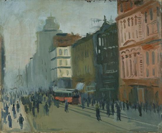 Rusakov A I - Трамвай на улице