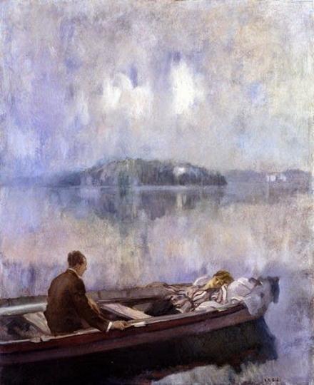 Ambrogio Antonio Alciati - On the Lake
