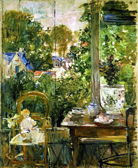 Berthe Morisot  Doll on a Porch