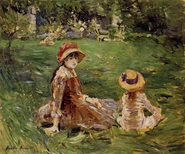 Berthe Morisot  In the Garden at Maurecourt