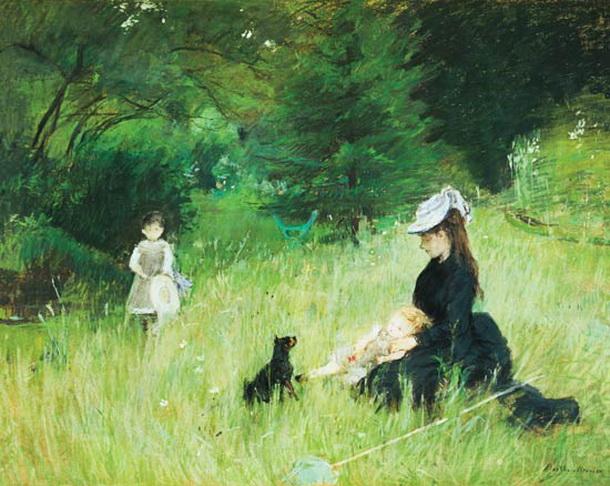 Berthe Morisot  In a Park