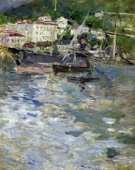 Berthe Morisot - Port of Nice