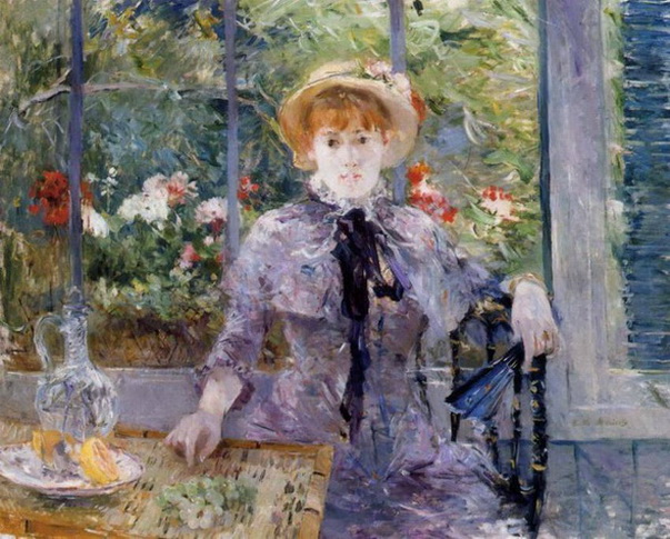 Berthe Morisot  Young Girl in a Greenhouse