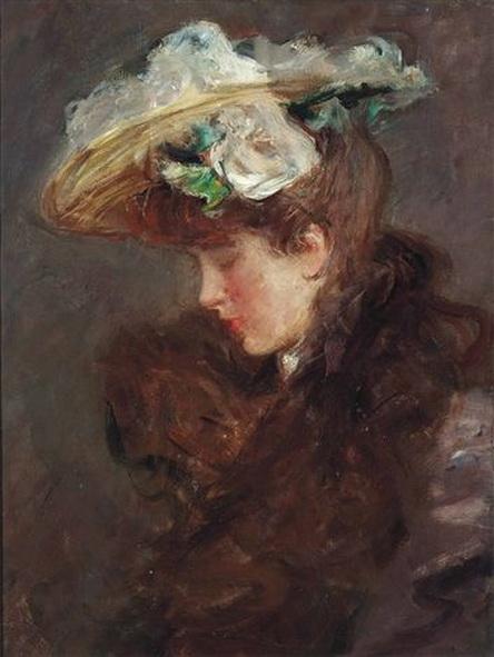 Albert de Belleroche -  The New Hat