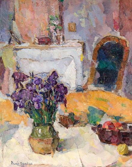 Bessie Davidson - Interior with Iris