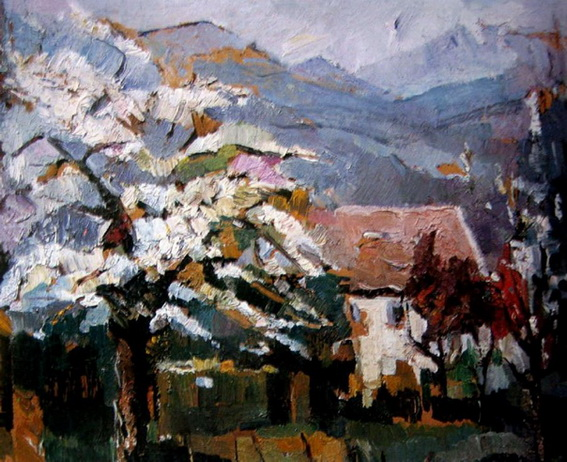 Bessie Davidson - Spring Blossom, Savoie