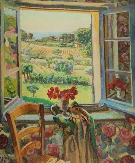Duncan Grant Window