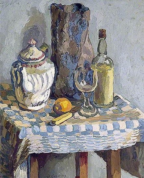 Duncan Grant still life with a tea pot