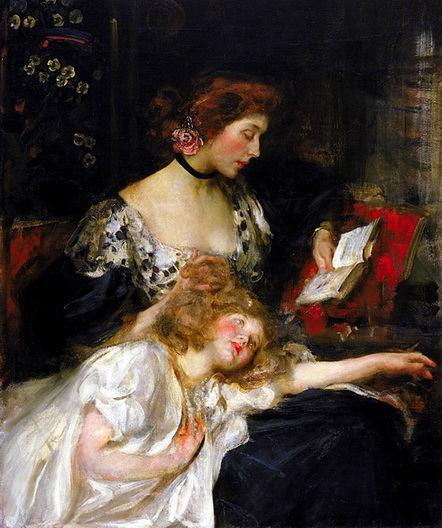 James Jebusa Shannon - Mother and Child
