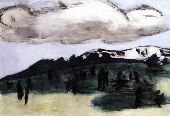 Max Beckmann -  The Cloud