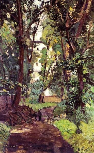 Max Beckmann -   Old Botanical Garden