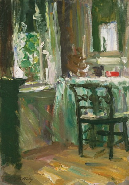 Irving Ramsey Wiles - The Dressing Table
