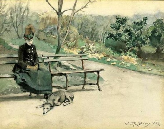 Irving Ramsey Wiles - In The Park